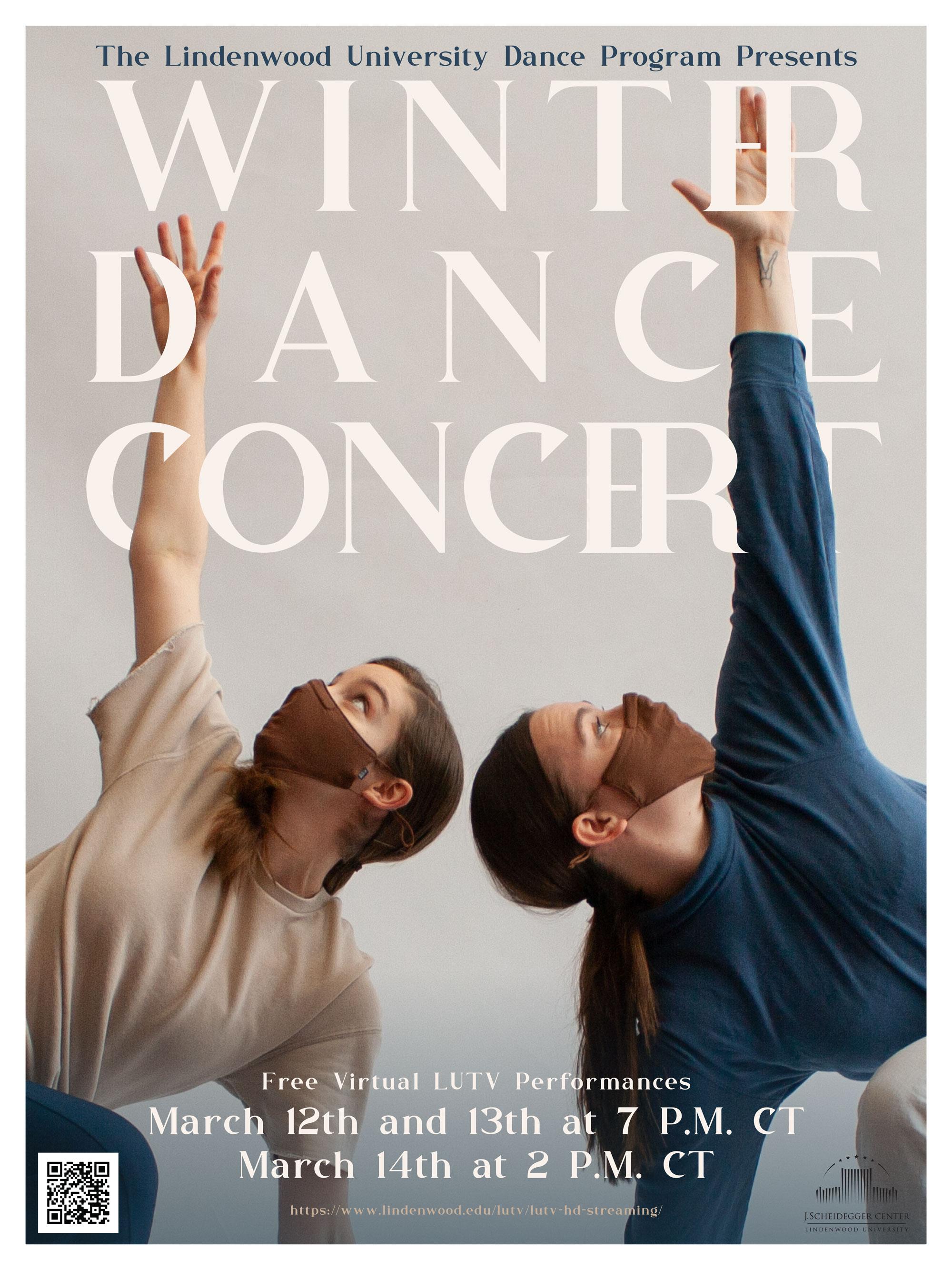Winter Dance Concert 2021 (Poster)