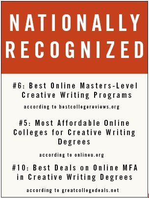 masters in creative writing online