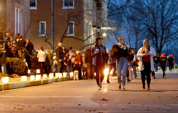 Christmas Walk Luminaries