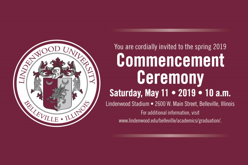 Save the Date - Commencement 2019 - May 11, 2019