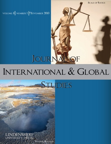 Journal of International & Global Studies: Volume 5, Number 1