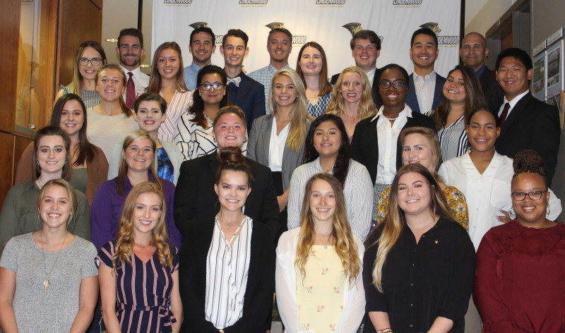 Lindenwood Student Government Officers 2018