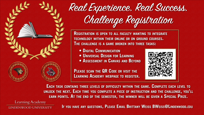 Registration: Real Experience. Real Success. Challenge