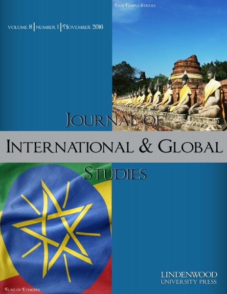 Journal of International & Global Studies: Volume 8, Number 1