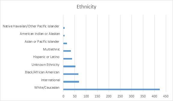 Ethnicity Chart