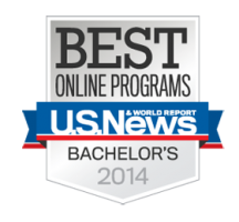 Lindenwood's Online Program Rankings by U.S. News and World Report