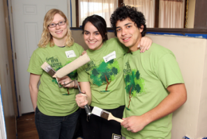 Participants in Spring into Service Day