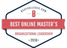 Best Online Master's Degree in Organizational Leadership
