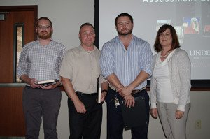 Assessment Champions Recognized at Staff Meeting - 02