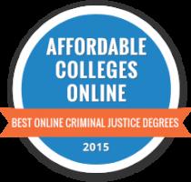 Affordable Colleges Online's best criminal justice degrees