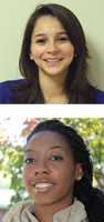 Top: Andrea Ruano; Bottom: Seannell Chambers