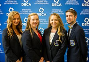 Collegiate DECA Executive Officers