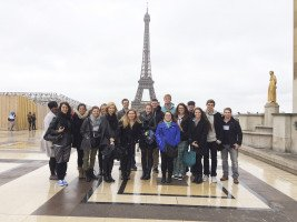 Students in Paris, France