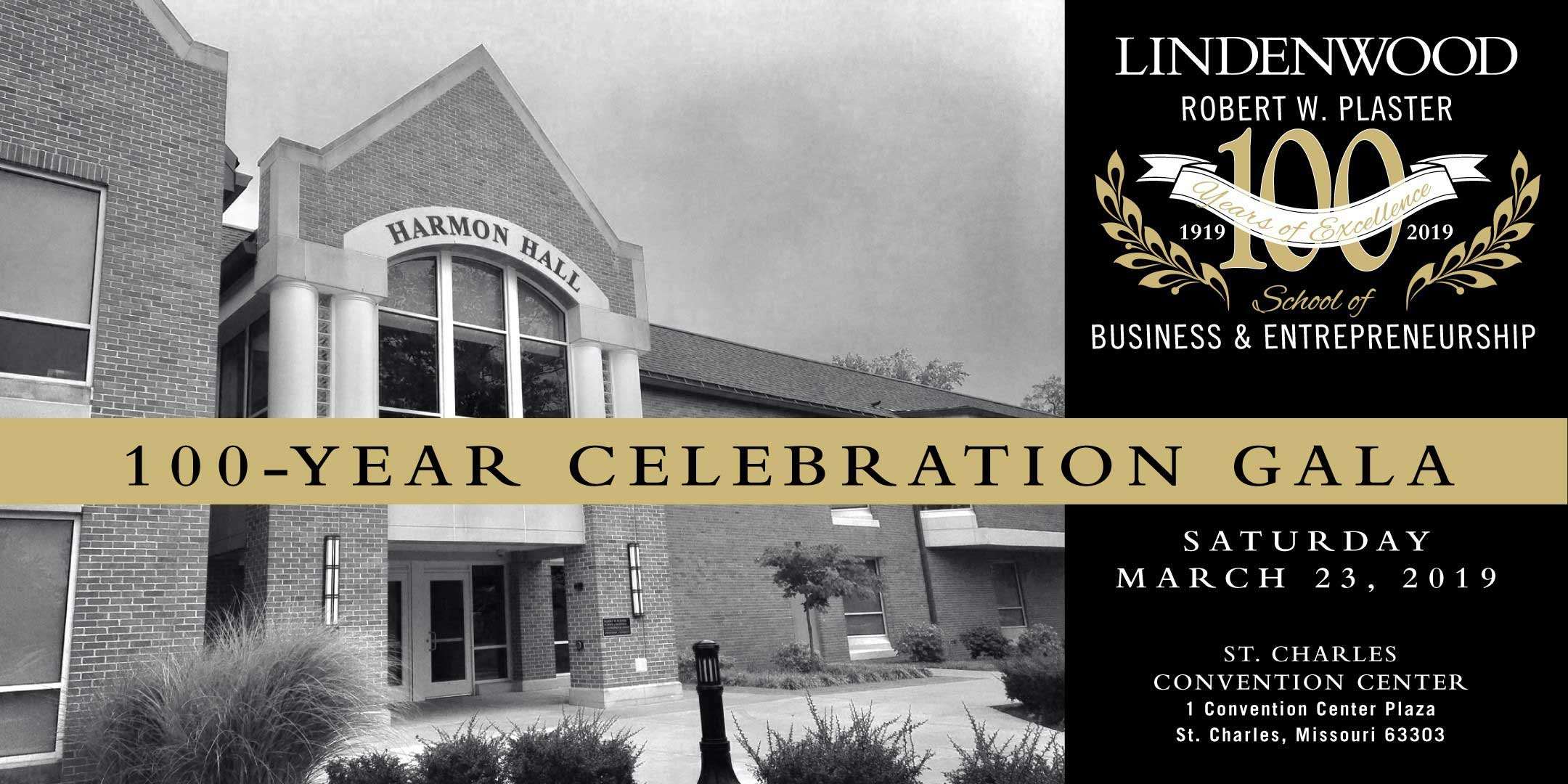 Save the Date - 100-Year Celebration - Saturday, March 23, 2019